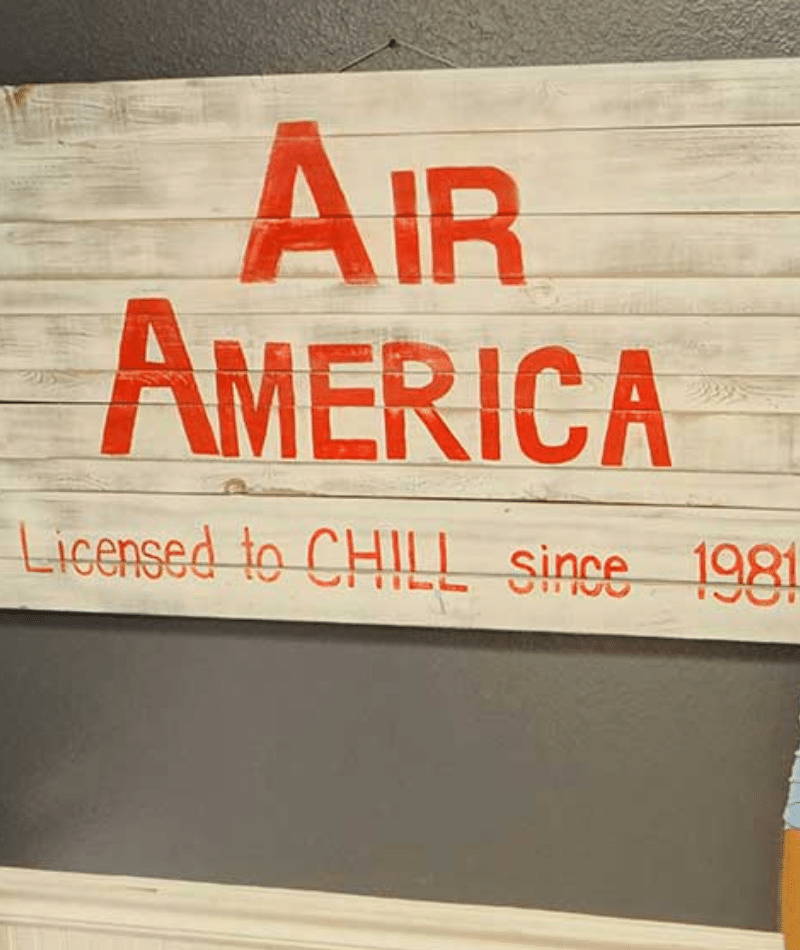 Air America Licensed to Chill Since 1981